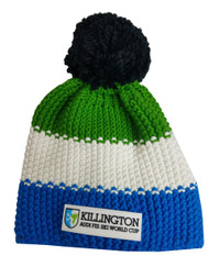 Official Eisbar World Cup Beanie (Green/Blue)