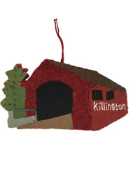 Killington Logo Felted Christmas Ornament