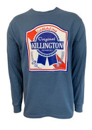 Killington Logo Blue Ribbon Long Sleeve Tee