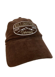 Killington Logo Brown Corduroy Hat