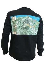 Killington Logo Youth Trail Map Long Sleeve Tee