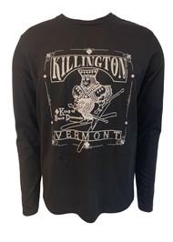 Killington Logo King Of Black Diamonds Long Sleeve Tee