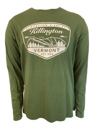 Killington Logo Mountainscape Long Sleeve Tee