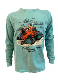 Killington Logo Youth Snowcat Trek Long Sleeve Tee