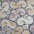 "Decorative tile ""Hiedra"" - 30cm x infinity - Glazed in matt ocre, browns and cream."
