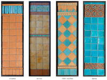 Handmade tile compositions #12