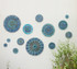 Moroccan ceramic wall art mixed