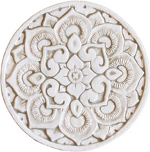 mandala wall art - beige [21cm]