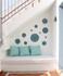 Moroccan ceramic wall art circle #2 lifestyle interior