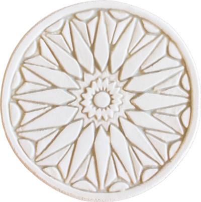 Moroccan circle wall art#1 beige