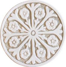 suzani circular wall art #2 - beige [15cm]