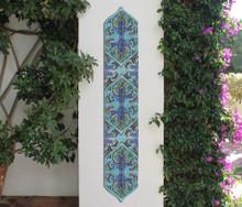 Pillar Tiles Set - Suzani Deco [15cm]