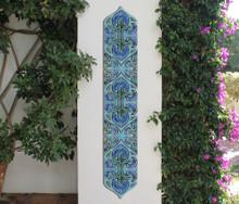 Pillar Tiles Set - Suzani Liso [15cm]