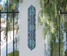 Pillar Tiles Set - Suzani [8cm]