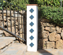 Pillar Tiles Set - Mandala taco [8cm]