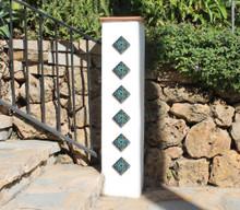 Pillar Tiles Set - Suzani taco [8cm]