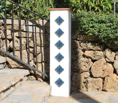 pillar sets context Moroccan taco deco 8cm