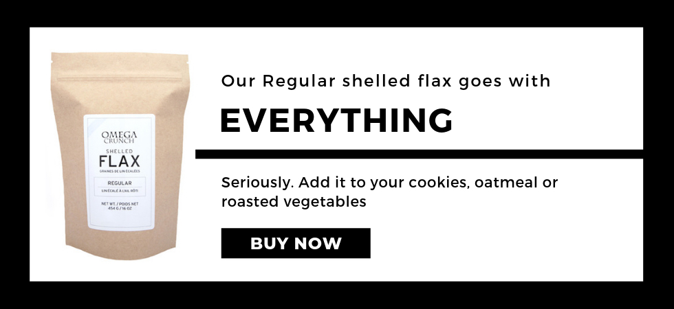 Regular Flax goes on everything