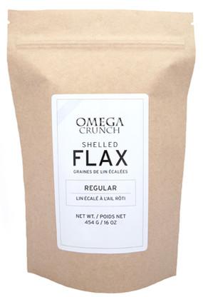 Regular Shelled Flax Raw 454g.