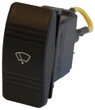Rocker Switch 2-Speed for Coastal Wiper Motors 12/24V