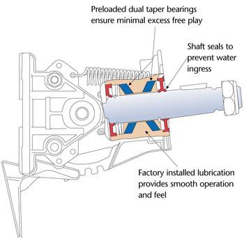 SeaStar HA6523 Classic Tilt Replacement Kit For Hydraulic Helm Pumps