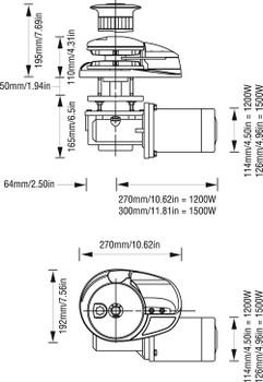 LW7942/1 Dimensional Chart.
