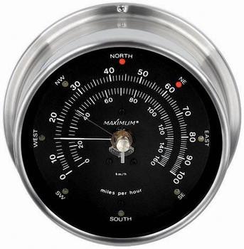 Maestro – Nickel case, Black dial