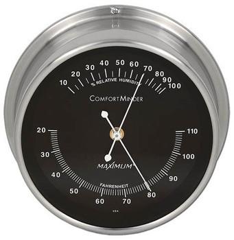 ComfortMinder – Nickel case, Black dial