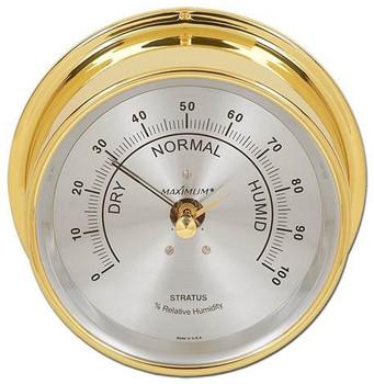 Stratus – Brass case, Silver dial