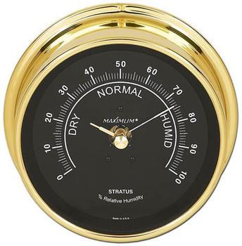 Stratus – Brass case, Black dial