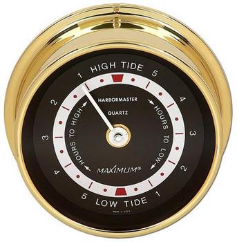 Harbormaster – Brass case, Black dial