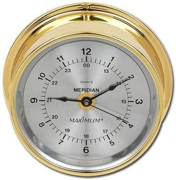 Meridian – Brass case, Silver dial