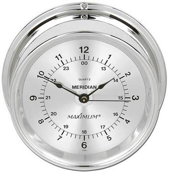 Meridian – Chrome case, Silver dial