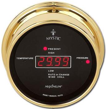 Mystic – Brass case, Black dial