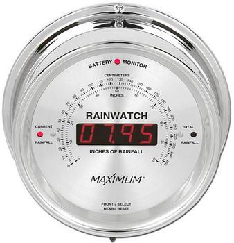 Rainwatch – Chrome case, Silver dial