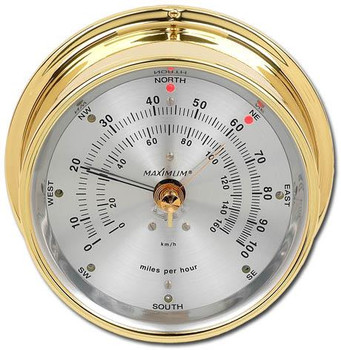 Wireless Maestro – Brass case, Silver dial