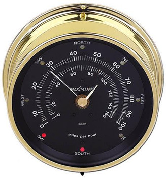 Wireless Maestro – Brass case, Black dial