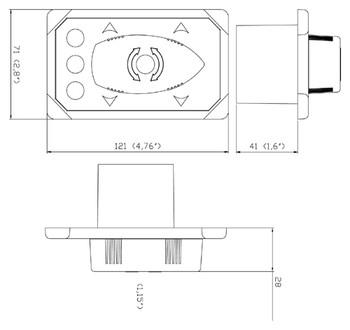 SM8909C Dimensional Drawing