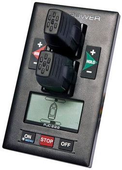 Hydraulic Dual Joystick Control Panel with Integral LCD SMPJC222