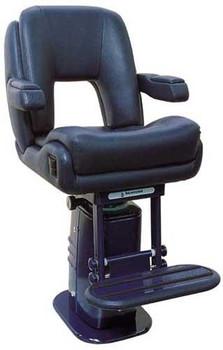 """P217 """"President Sport"""" w/Elec. Adj. Pedestal & Footrest Owner Supplied Finish"""