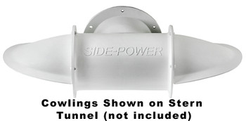 """SM90080 Set of Cowlings for 185mm (7.3"""") Stern Tunnel Short Composite"""