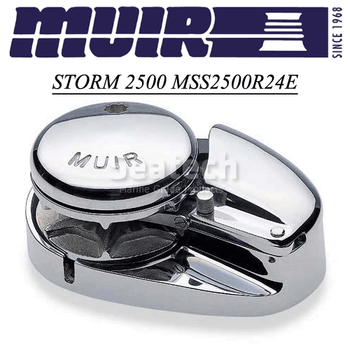 Muir Storm 2500 Low Profile 24V Windlass MSS2500R24E