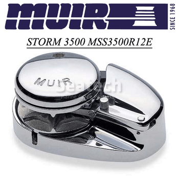 Muir Storm 3500 Low Profile 12V Windlass MSS3500R12E
