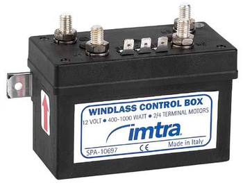 Marine Windlass Solenoid Control Box from Imtra for 2 and 4 wire motors. SPA-10697