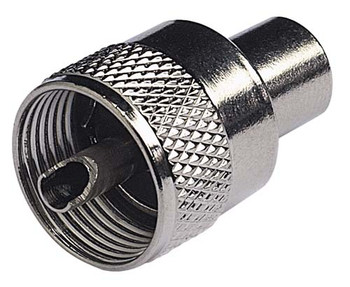 PL259 Male Connector for RG58C/U, Standard, Twist-On