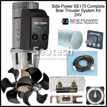 Side-Power SE170 Complete Bow Thruster Kit