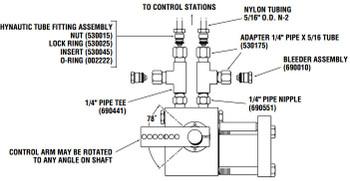 Hynautic Engine Control Throttle Slave - Rebuild