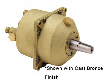 Kobelt 7004-BNT 3.4in³ Hydraulic Marine Helm Pump - Black Epoxy Finish with Short Taper Shaft