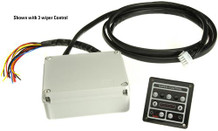 Wiper control panel for 2 wipers 12V High Speed