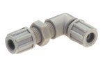 Bent bulkhead connector 4 x 6mm